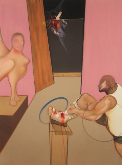 Francis Bacon:Oedipus and the Sphinx After Ingres