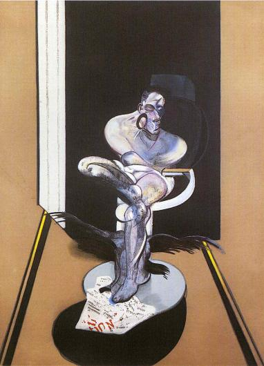 Francis Bacon:Seated Figure 1977