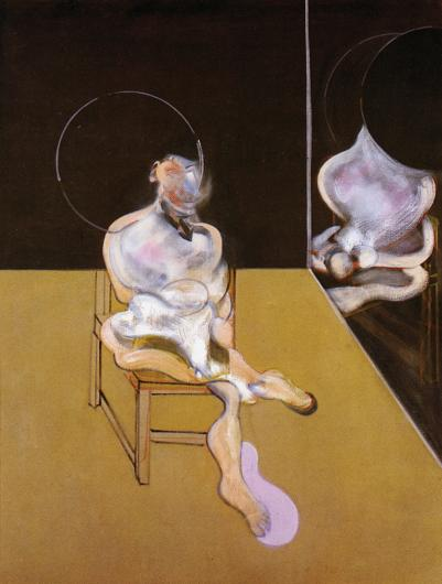 Francis Bacon:Seated Figure