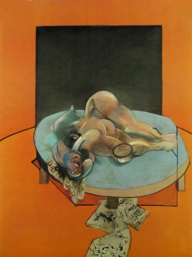 Francis Bacon:Three Studies of the Human Body (Centre Panel)