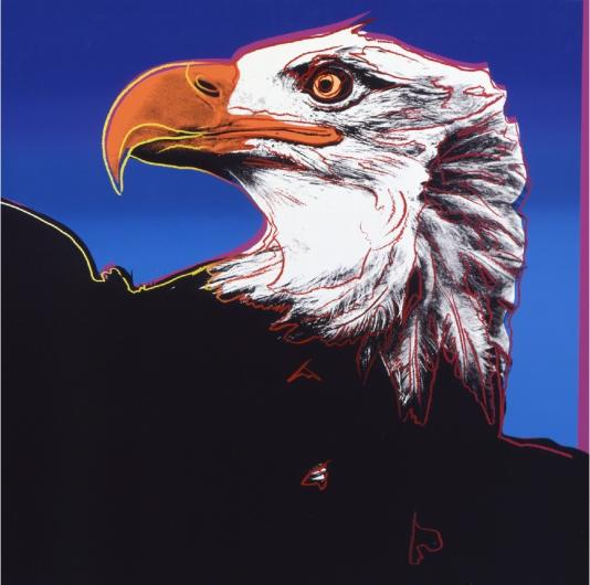 Andy Warhol:Endangered Species: Bald Eagle, F & S II.296