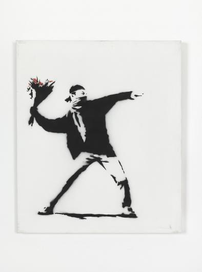 Banksy:Love is in the air
