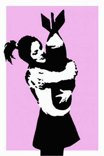 Banksy:Bomb Hugger