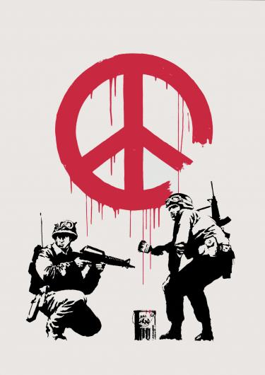 Banksy:CND Soldiers
