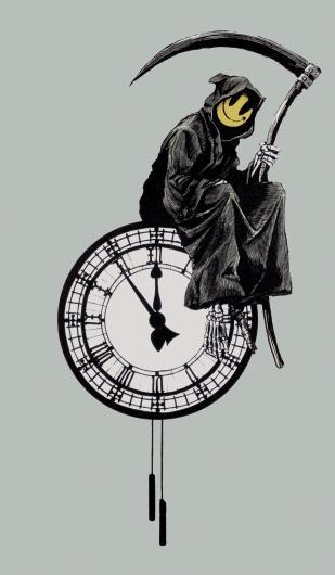 Banksy:Grin Reaper