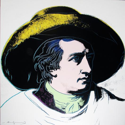 Andy Warhol:Goethe, II.272