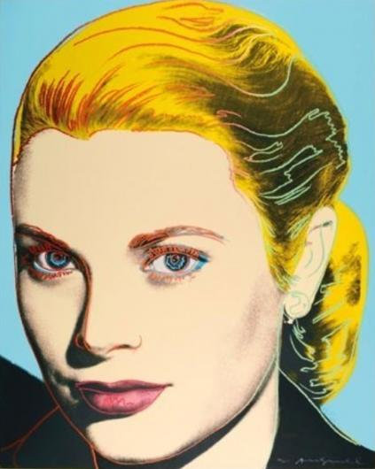 Andy Warhol:Grace Kelly, F & S II.305