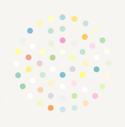 Damien Hirst:Ciclopirox Olamine
