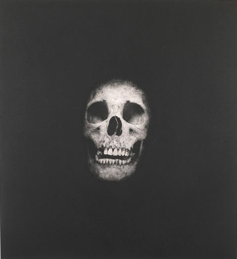 Damien Hirst:I Once Was What You Are, You Will Be What I Am (Skull 4)