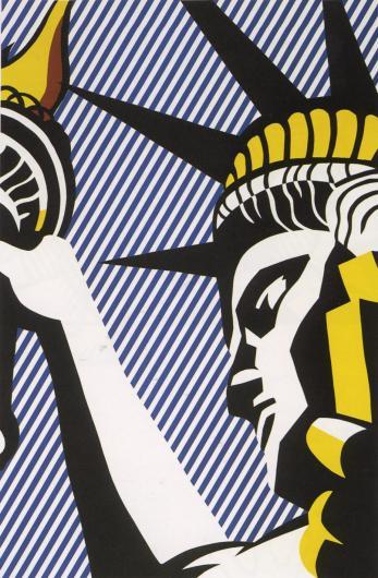 Roy Lichtenstein:I Love Liberty