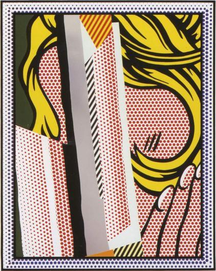 Roy Lichtenstein:Reflections on Hair