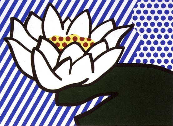 Roy Lichtenstein:Water Lily