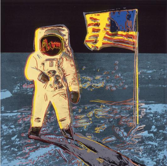 Andy Warhol:Moon Walk, F & S II.404