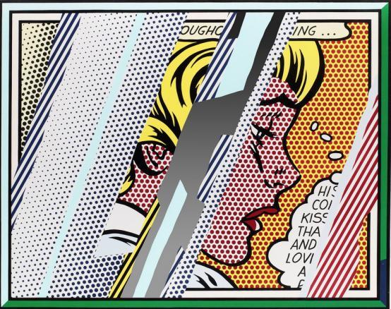 Roy Lichtenstein: Reflections on Girl