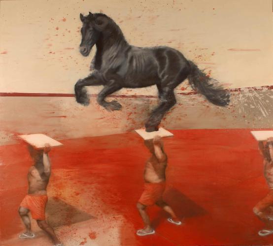 Nicola Pucci:Horse at the Gallop (Cavallo al Galoppo)