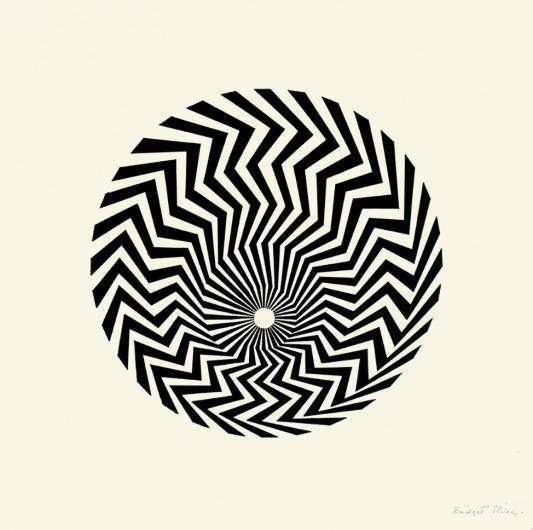 Bridget Riley:Untitled (Based on 'Primitive Blaze')