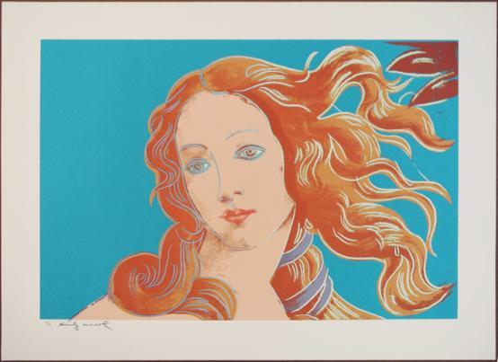 Andy Warhol:Birth of Venus, (FS.II.319)