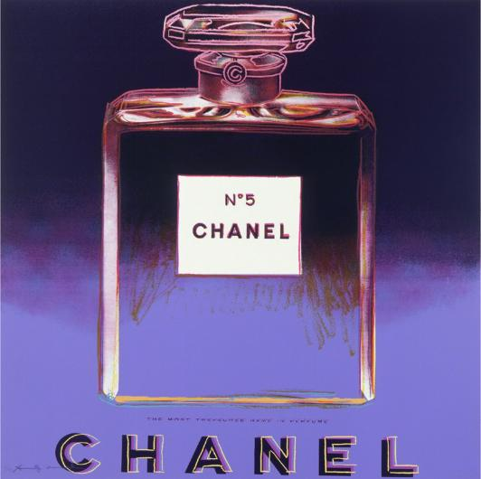Andy Warhol:Ads: Chanel, F & S II.354