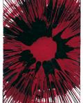 """Hirst, """"Spin Red"""" at Andipa Gallery"""