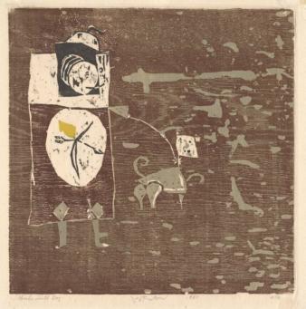 Roy Lichtenstein:Hunter with Dog