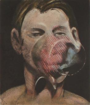 Francis Bacon:Portrait of Peter Beard