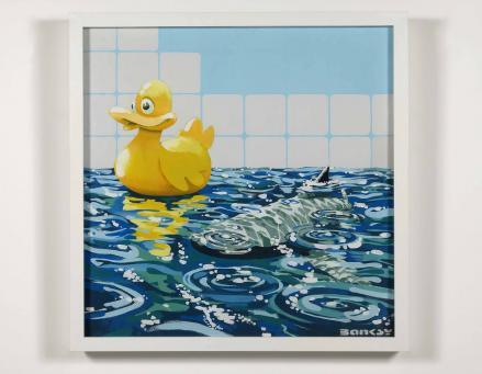 Banksy:Rubber Ducky