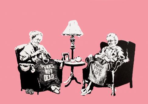 Banksy:Grannies