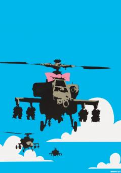 Banksy:Happy Choppers