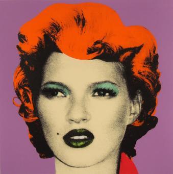 Banksy:Kate (Purple)