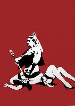 Banksy:Queen Vic