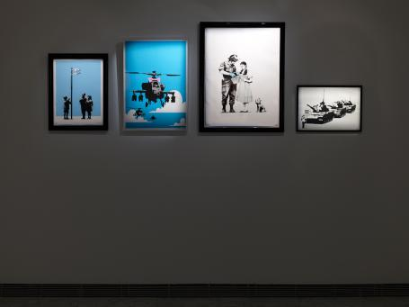 Banksy:Installation Picture 5