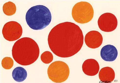 Alexander Calder:Untitled (Balloons)