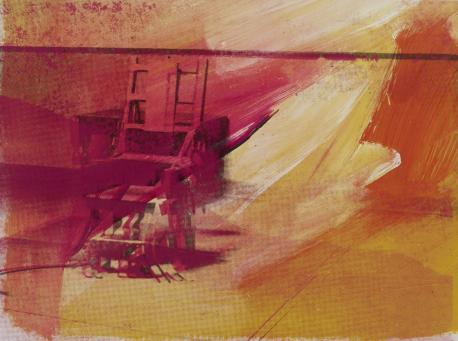 Andy Warhol:Electric Chair F & S II.81