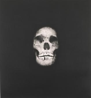 Damien Hirst:I Once Was What You Are, You Will Be What I Am (Skull 1)