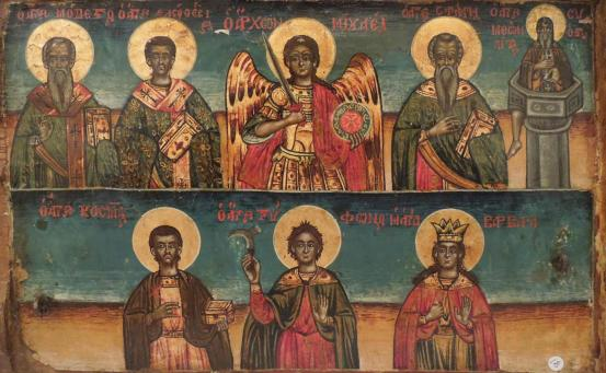 Icons:Saints (Two Tiers)