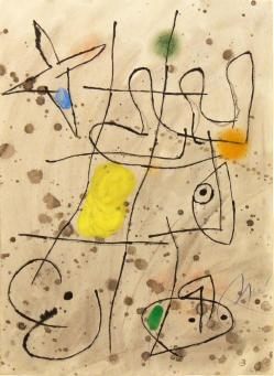 Joan Miro:Le Courtisan Grotesque 3