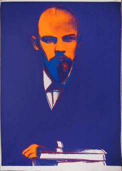 Andy Warhol:Lenin, (FS.II.402)