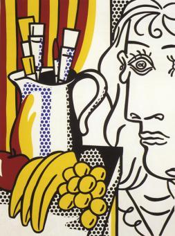 Roy Lichtenstein:Still Life with Picasso