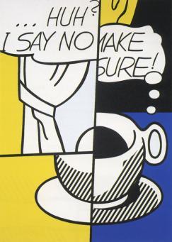 Roy Lichtenstein:Huh?