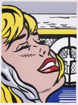 Roy Lichtenstein:Shipboard Girl