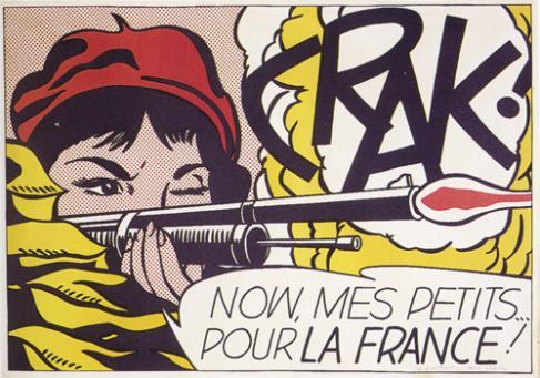 Roy Lichtenstein:Crak!