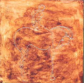 Julia Macmillan:Man and Horse