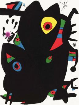 Joan Miro:Montroig 2