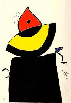 Joan Miro:Quatre Colors Aparien el Mon