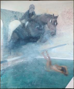 Nicola Pucci:Jumping Horse