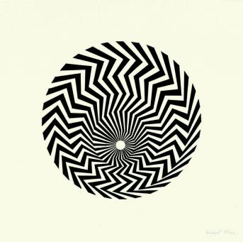 Group Show:Bridget Riley | Untitled (Based on Primitive Blaze)