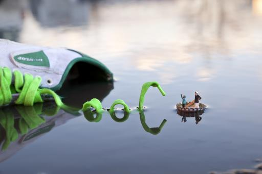 Slinkachu:Fantastic Voyage