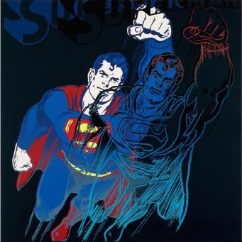 Andy Warhol:Myths: Superman, F & S II.260