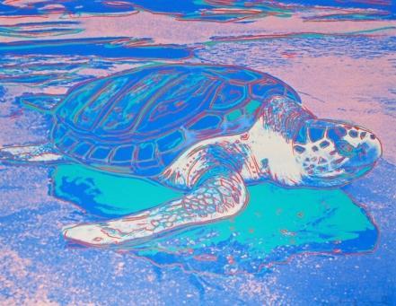 Andy Warhol:Turtle, F & S II.360A
