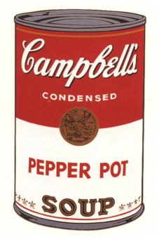 Andy Warhol:Campbell's Soup Can I - Pepper Pot